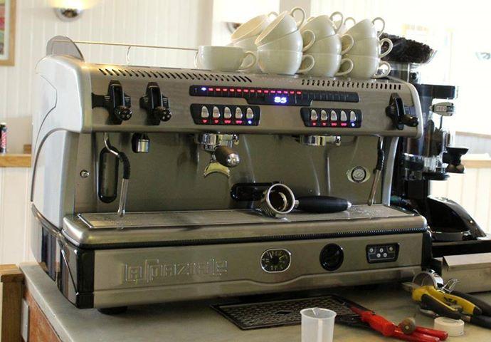espresso machine servicing