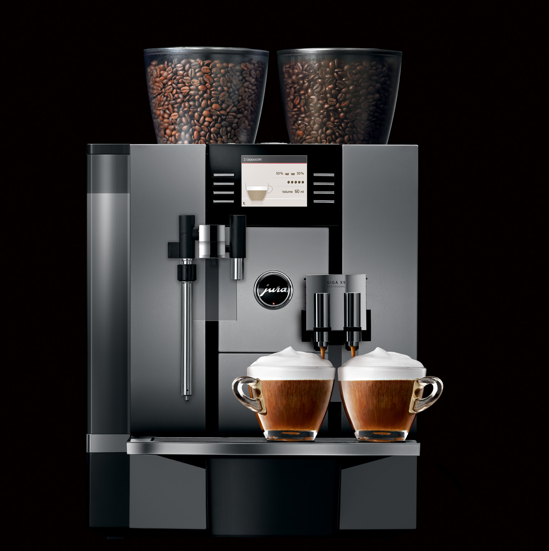 jura coffee machines jura bean to cup commercial automatic equipment. Black Bedroom Furniture Sets. Home Design Ideas
