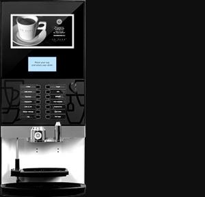 So pure Coffee machine paperless